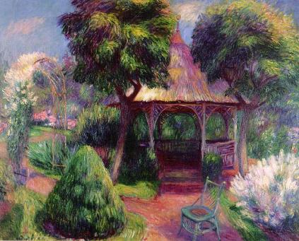 William Glackens - Garden at Hartford