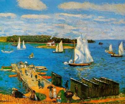 William Glackens - MAHONE BAY