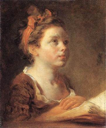 Jean-Honoré Fragonard - A Young Scholar