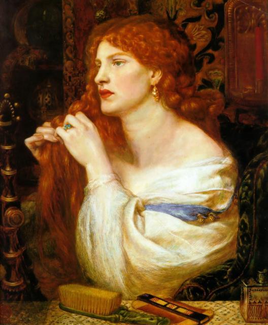 Dante Gabriel Rossetti - Aurelia