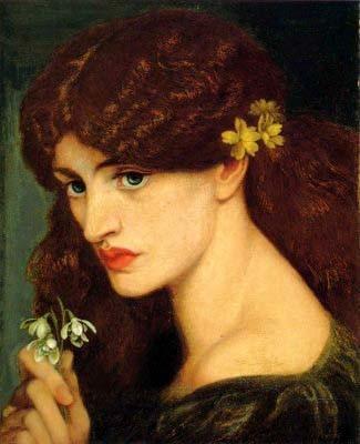 Dante Gabriel Rossetti -Blanzifiore (Snowdrops)