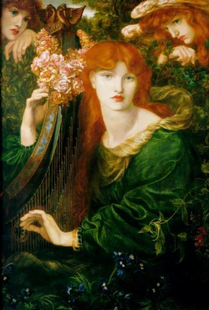 Dante Gabriel Rossetti - La Ghirlandata