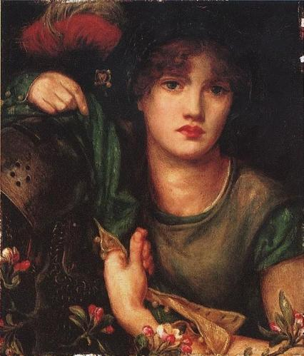 Dante Gabriel Rossetti - My Lady Greensleeves