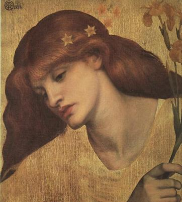 Dante Gabriel Rossetti - Sancta Lilias