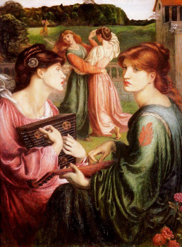 Dante Gabriel Rossetti - The Bower Meadow