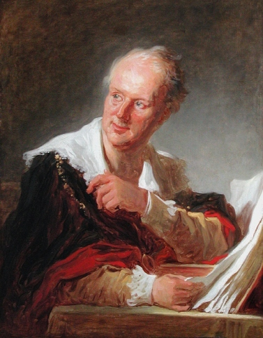 Jean-Honoré Fragonard - Denis Diderot