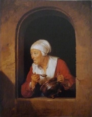 Gerrit Dou - Die Köchin