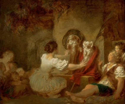 Jean-Honoré Fragonard - Education is Everything
