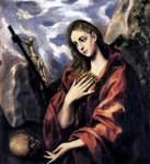 El Greco - Mary Magdalen in Penitence