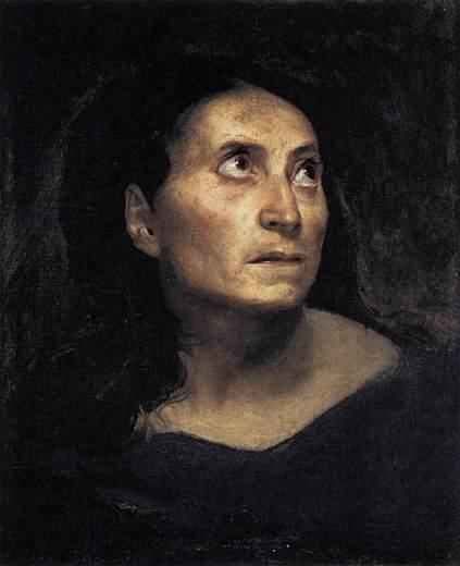 Eugène Delacroix. A Mad Woman