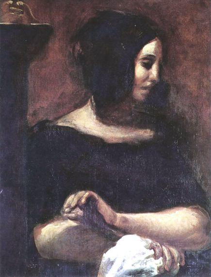 Eugène Delacroix. George Sand