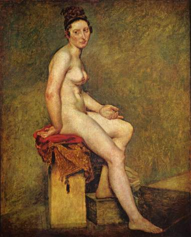 Eugène Delacroix. Mademoiselle Rose