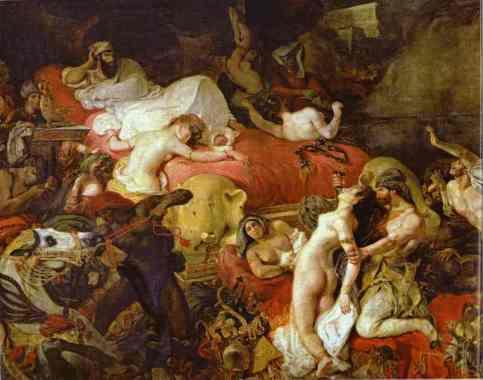 Eugène Delacroix - The Death of Sardanapalus