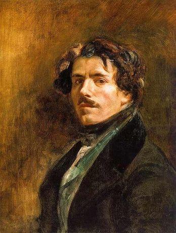 Eugène Delacroix - Self-portrait, 1837