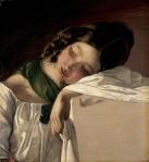 Friedrich von Amerling.Young Girl