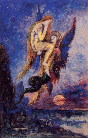Gustave Moreau - Chimera