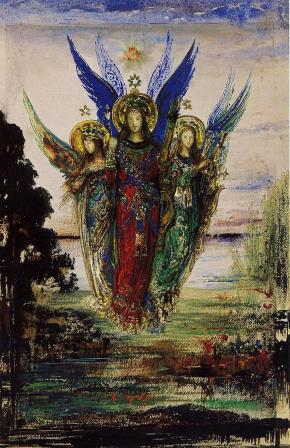 Gustave Moreau - Evening Voices