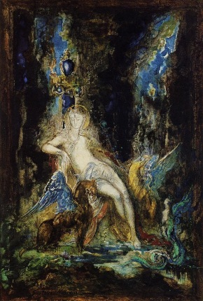 Gustave Moreau - Fairy and Griffon