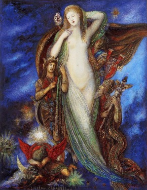 Gustave Moreau - Helene Glorifee