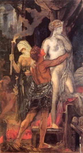 Gustave Moreau - Leda