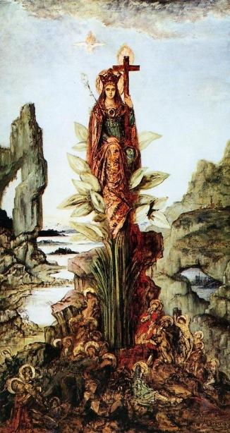 Gustave Moreau - Mystical Flower
