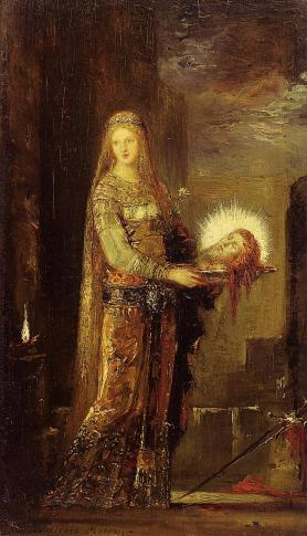 Gustave Moreau - Salome Carrying the Head of John the Baptist on a Platter