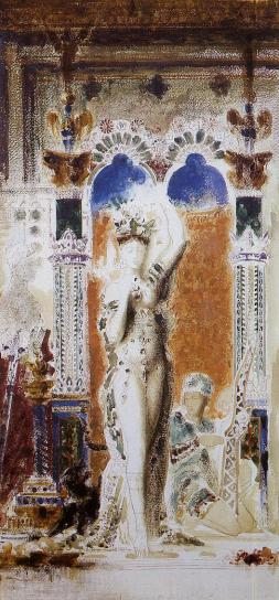 Gustave Moreau - Salome -Entering the banquet room