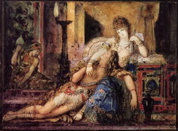 Gustave Moreau - Samson and Dalila