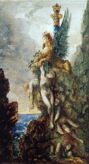 Gustave Moreau - The Victorious Sphinx