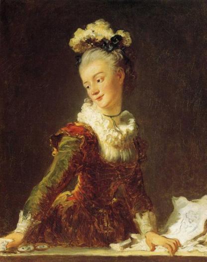 Jean-Honoré Fragonard - Marie-Madeleine Guimard, Dancer