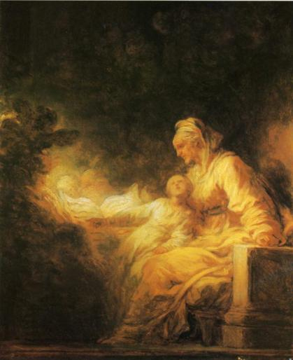 Jean-Honoré Fragonard - The Education of the Virgin