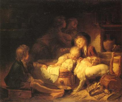 Jean-Honoré Fragonard - The Farmers' Children