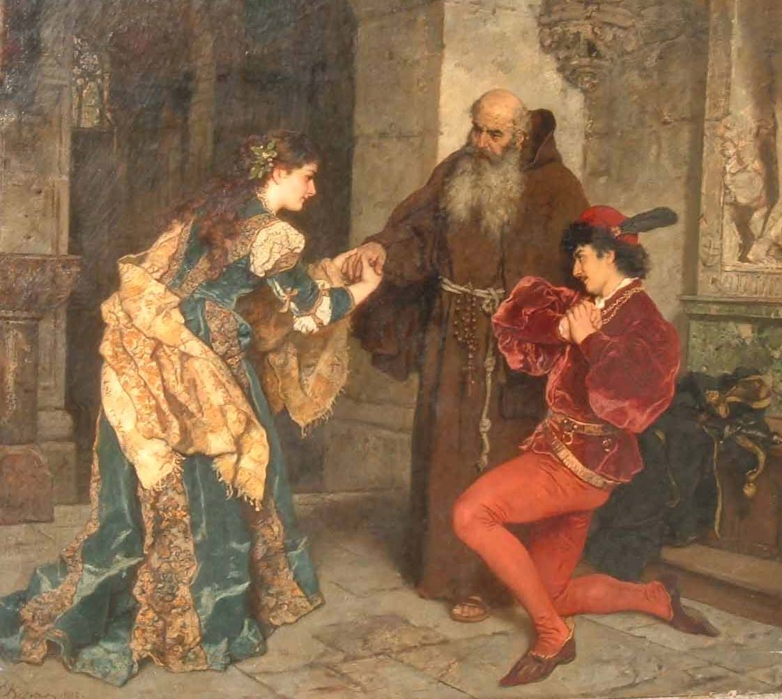 a look at the character of friar lawrence in romeo and juliet by william shakespeare Penlighten draws up a list of characters in romeo and juliet in order of appearance  from friar laurence for romeo to think of juliet―particularly about their .