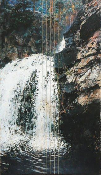 Akseli Gallen-Kallela - Mäntykoski Waterfall