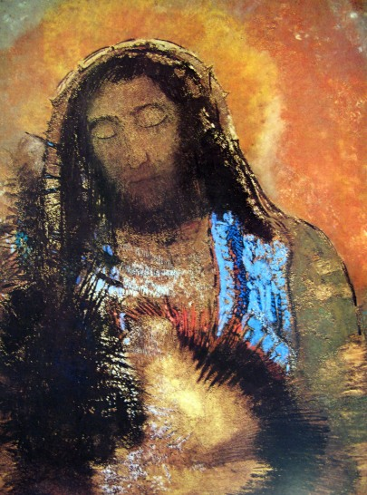 Odilon Redon - The Sacred Heart