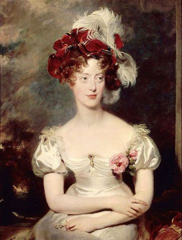 Thomas Lawrence - Princess Caroline Ferdinande of Bourbon-Two Sicilies , Duchess of Berry