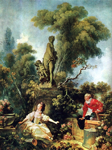 Jean-Honoré Fragonard - Surprise