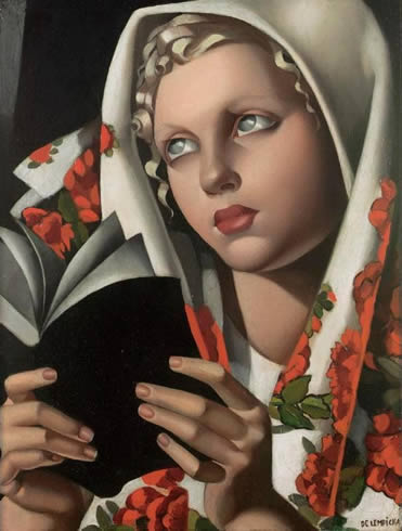 Tamara de Lempicka-Polish Girl
