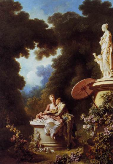 Jean-Honoré Fragonard - The Confession of Love