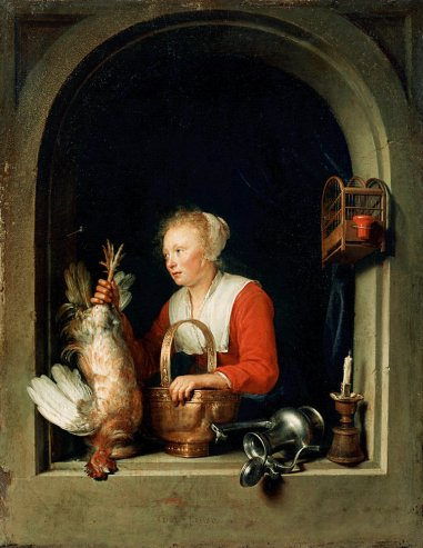 Gerrit Dou - The Dutch Housewife