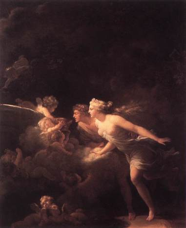 Jean-Honoré Fragonard - The Fountain of Love
