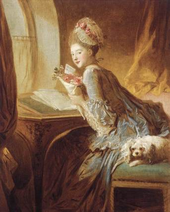 Jean-Honoré Fragonard - The Love Letter