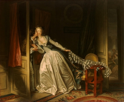 Jean-Honoré Fragonard - The Stolen Kiss