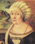 Albrecht Dürer - Felicitas Tucher, née Rieter, 1499