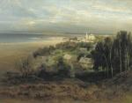 Alexei Savrasov - Pechersky Monastery near Nizhny Novgorod. 1871