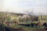 Alexei Savrasov - Rustic View . 1867