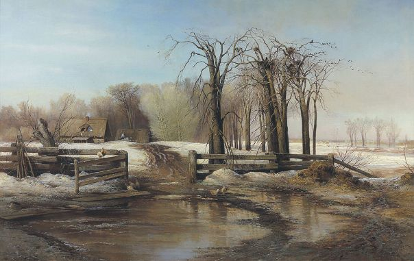 Alexei Savrasov - Spring Day, 1873