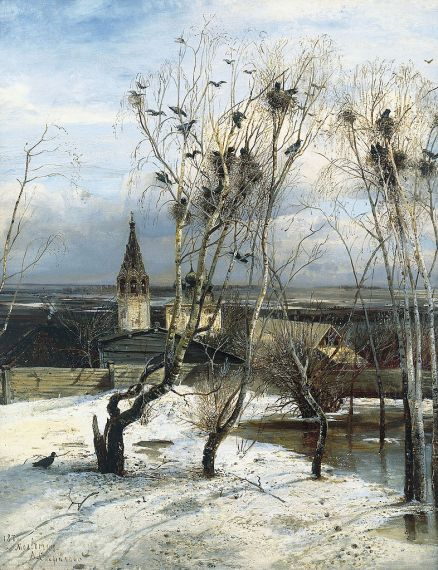Alexei Savrasov - The Rooks Have Come Back