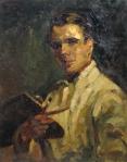 Aurel Băeşu - Autoportret