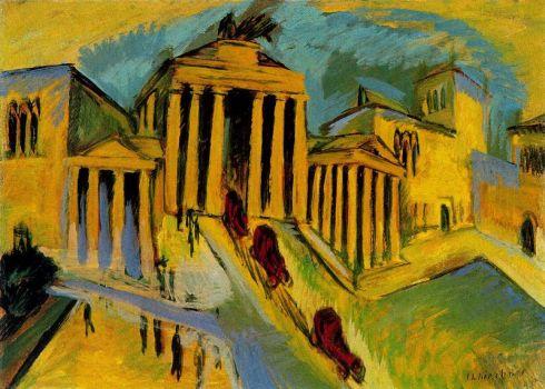 Ernst Ludwig Kirchner - Brandenburger Tor
